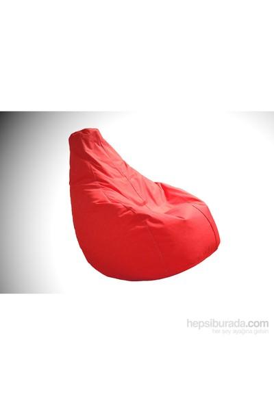 Pufumo Damla Armut Koltuk ( Kırmızı )