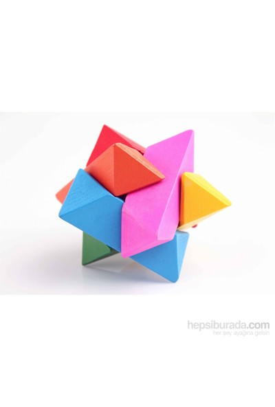 Learning Toys Wooden Intelligence Cube