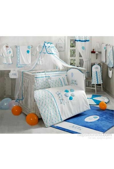Kidboo Happy Birthday Blue 70*130 Cm Bebek Uyku Seti