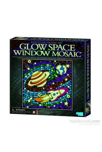 4M Paralayan Pencere Mozaik - Uzay