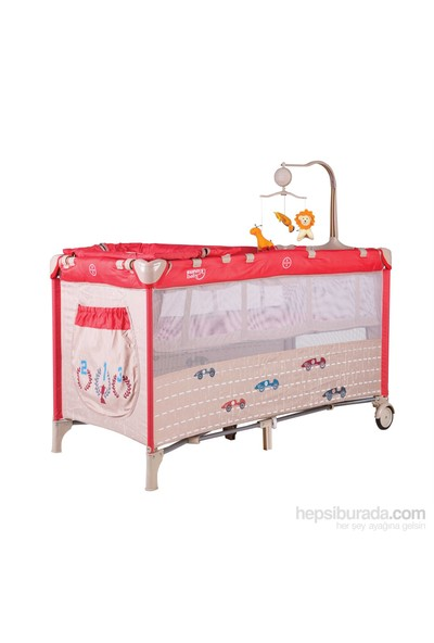 Sunny Baby 624 Siesta Oyun Parkı - Kırmızı