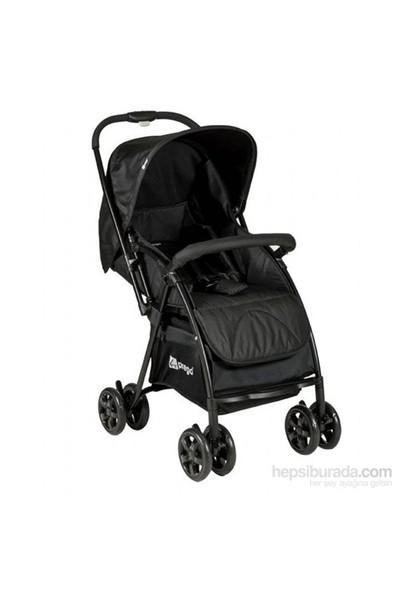 Prego 2082 İnnova Çift Yönlü Bebek Arabası Siyah