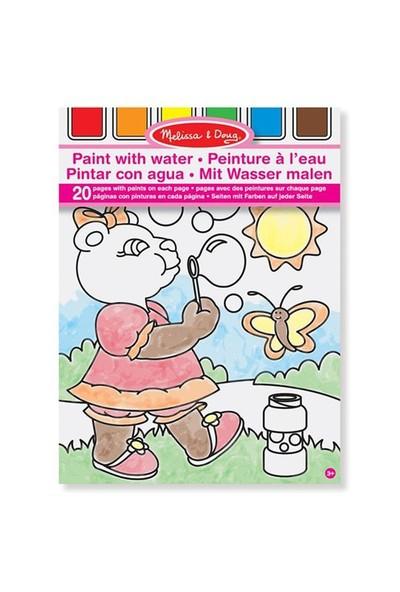 Melissa&Doug Sulu Boyalı Boyama Kitabı - Pembe