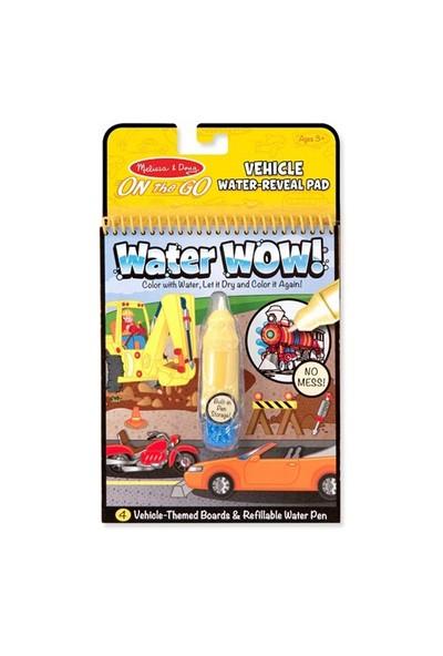 Melissa & Doug Water Wow Su İle Boyama Kitabı Araçlar