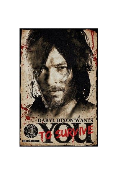 The Walking Dead Darly Needs You