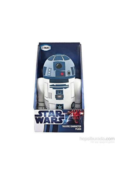 Star Wars R2-D2 Konuşan Peluş 23 Cm