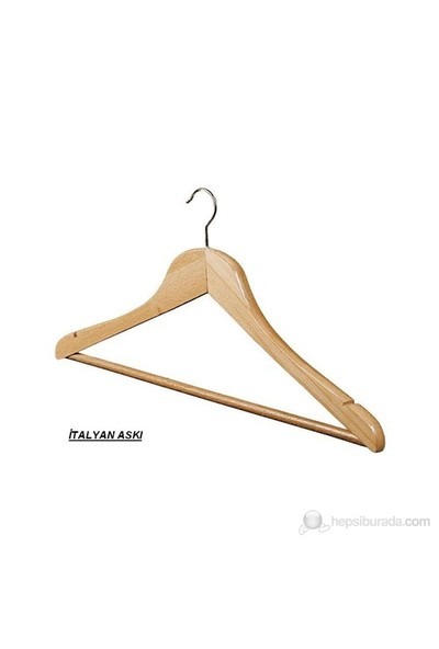 4 Lü İtalyan Elbise Askısı-Hortumlu