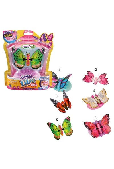 Little Live Pets Harika Kelebekler