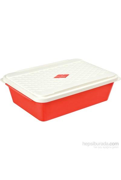 Bager Smartlıne Saklama Kabı 2,5 Lt - Kırmızı