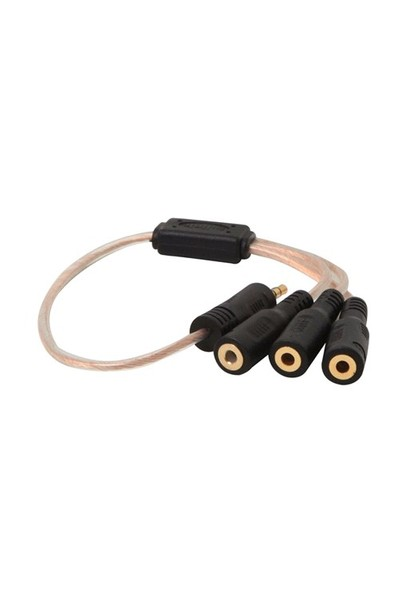 S-Link Sl-Dc53 Dc3.5/M To Dc3.5/F 3`Lü Ses Çoklayıcı Kablo