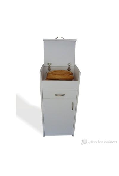 Ekmek Dolabı Beyaz