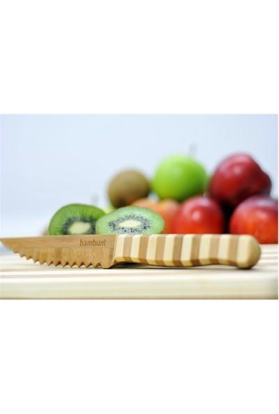 Bambum Meyve ve Sebze Bıçağı Tırtıklı