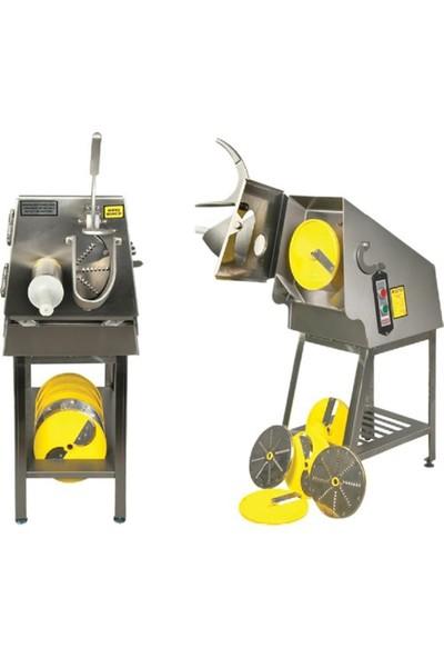 Emir Sebze Dilimleme Makinası Ayaklı