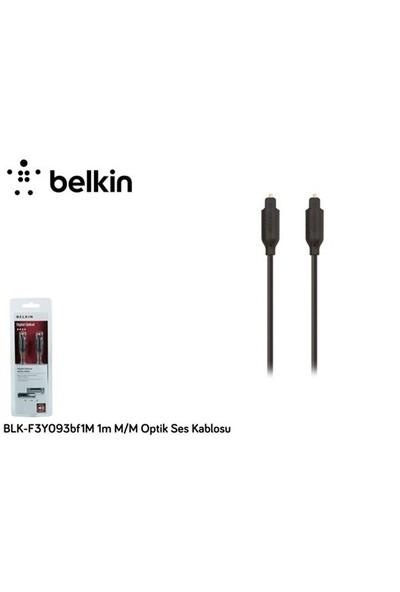 Belkin Blk-F3y093bf1m 1M M/M Optik Ses Kablosu