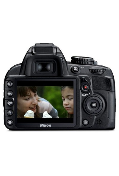 "Nikon D3100 18-55mm DX Kit 14.2 MP 3"" LCD DSLR Dijital Fotoğraf Makinesi"