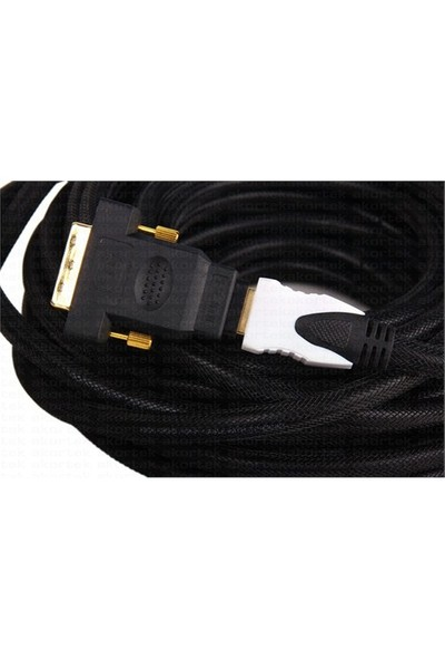 Dark HDMI - DVI-D Dönüştürücü (HDMI dişi - DVI-D erkek) (DK-HD-AFHDMIXMDVITV)