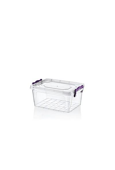 Hobby Life Plastik 3 Lt Diktörtgen Multi Box Saklama Kabı
