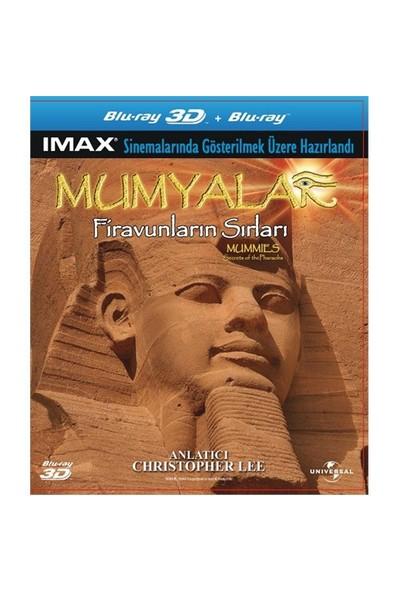 Mummies Secrets Of The Pharaohs 3D (Mumya: Firavunların Sırları 3 Boyutlu) (Blu-Ray Disc)