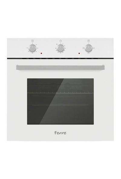 Ferre Slika 3'lü Ankastre Set ( BB 3 LM Fırın + B 1140 Beyaz Cam Ocak + BFME 600 Beyaz Cam Davlumbaz)
