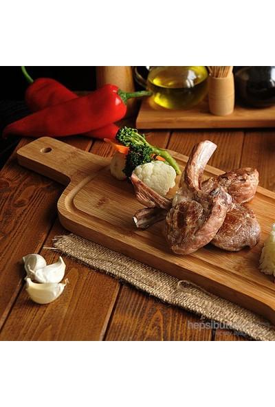 Bambum Rula Steak ,Sunum Tahtası