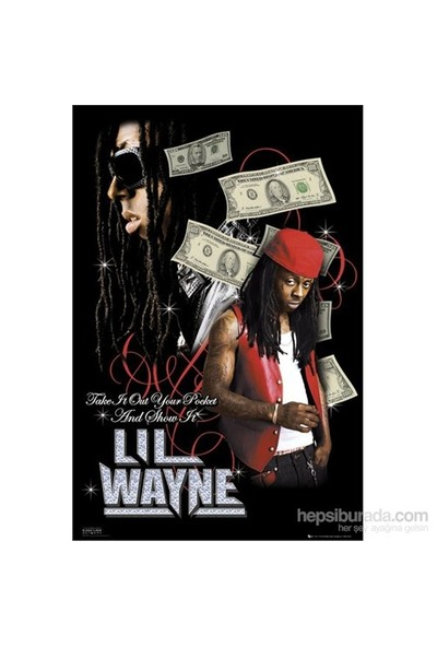Lil Wayne Dollars Maxi Poster