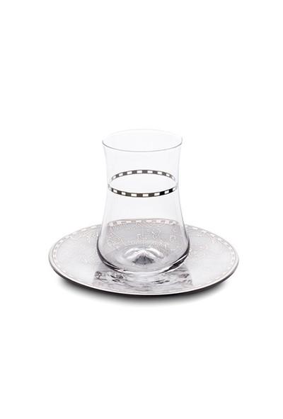 Esse Koleksiyon 6 lı İrismano Çay Bardağı