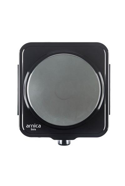 Arnica Solo GH25030 1500 W Tekli Siyah Elektrikli Ocak