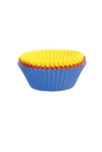 Kaiser Muffin Kağıt Kalıp Renkli 7 Cm 150'Li