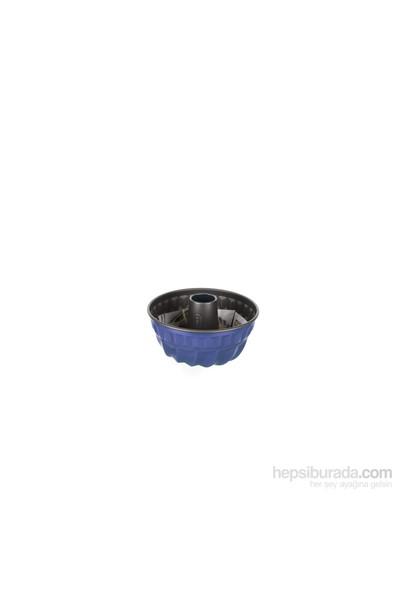 Kaiser Borulu Kek Kalıbı 22 Cm Mavi