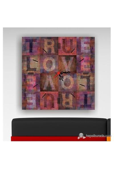 Love Kanvas Tablo Saat