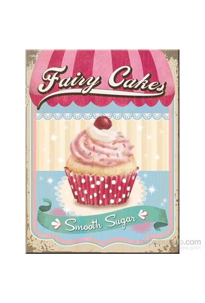 Fairy Cakes - Smooth Sugar Magnet