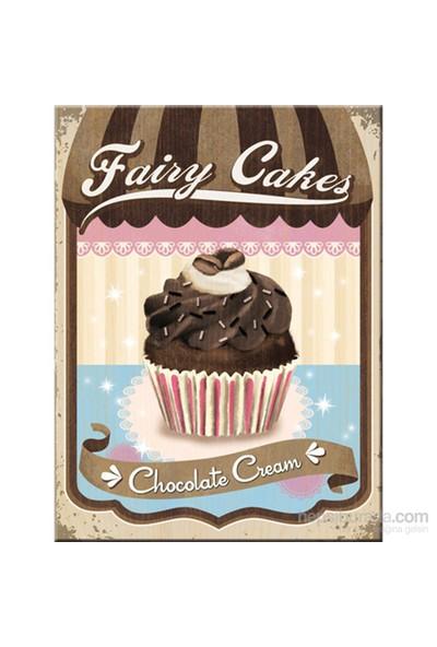 Fairy Cakes - Chocolate Cream Magnet