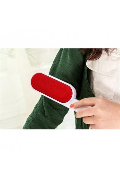 LoveQ Toz Alma Fırçası Çift Taraflı Kırmızı