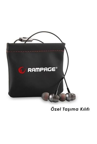 Rampage Invoker Mobil Telefon Uyumlu Kulak içi Kulaklık Gri Mikrofonlu Kulaklık
