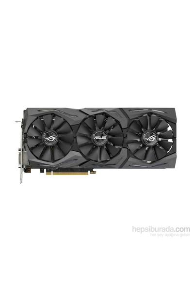 Asus ROG STRIX Nvidia GeForce GTX 1060 6GB 192Bit GDDR5 (DX12) PCI-E 3.0 Ekran Kartı (STRIX-GTX1060-6G- Gaming)