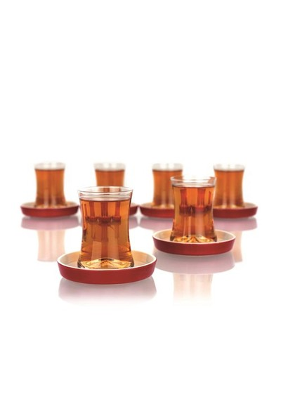 Essenso Koleksiyon 6'lı Küçük İstanbul Çay Seti