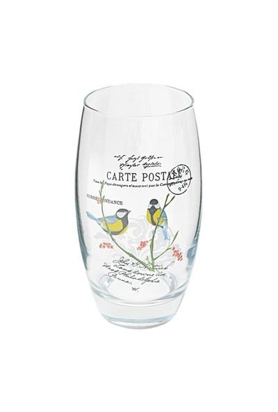 Joy Glass 3 Lü Meşrubat Bardağı Kuş Cenneti