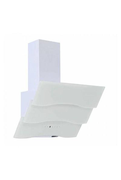 Ferre The New White Magician 3'Lü Ankastre Set ( BE6 LD Beyaz Multifonksiyon Fırın +1140 CE Beyaz Döküm Izgara Cam Ocak +SPR 600 Beyaz Uzaktan Kumandalı Ankastre Cam Davlumbaz )