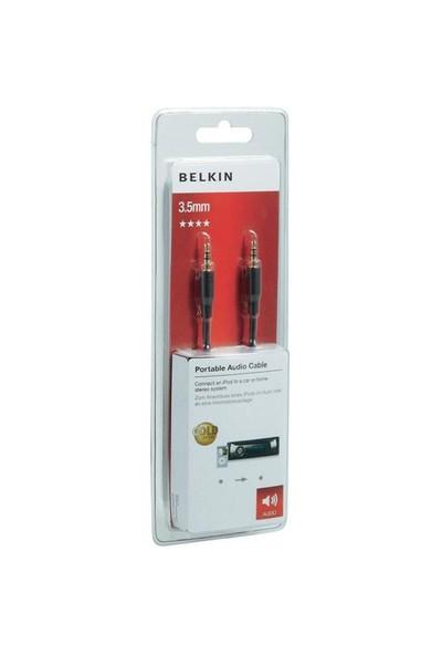 Belkin 1 Metre 3.5mm Stereo Ses Kablosu (F3Y117bf1M)