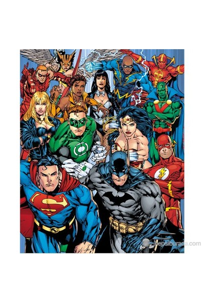 Dc Comics Cast Mini Poster