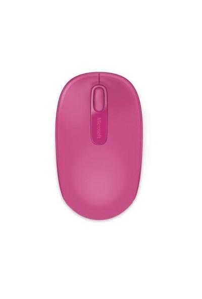 Microsoft Mobile 1850 Kablosuz Pembe Mouse (U7Z-00064)