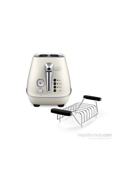 Delonghi Distinta CTI2103.W Ekmek Kızartma Makinesi (Beyaz)