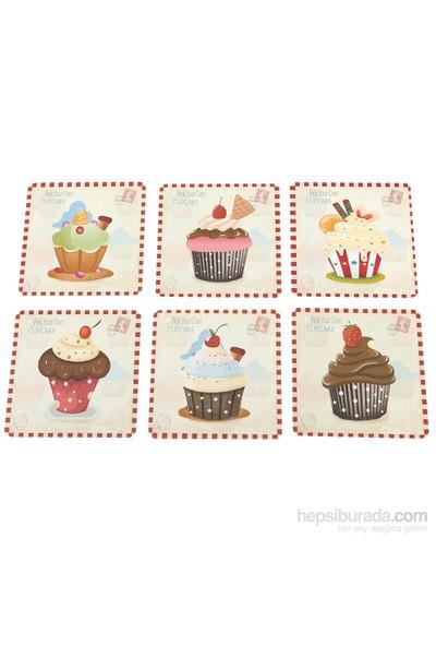 Cupcake Bardak Altlığı