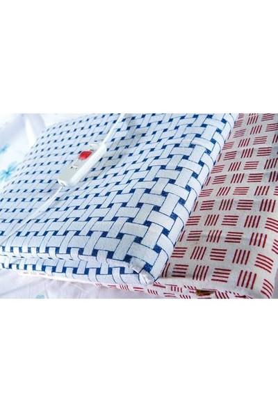 OMAK® Çift Kişilik Elektrikli Battaniye 120 x 150 cm