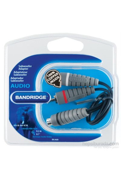 Bandrıdge Bal4600 Subwoofer Adaptor