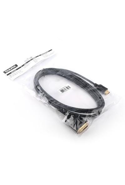 Dark 1.8m Hdmi to Dvi (24+1) Çift Yönlü Görüntü Bağlantı Kablosu (DK-CB-DVIXHDMIL180)