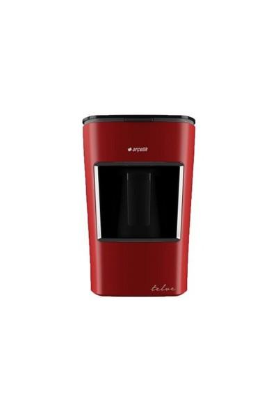 Arçelik K-3300 Kırmızı Mini Telve Türk Kahve Makinesi
