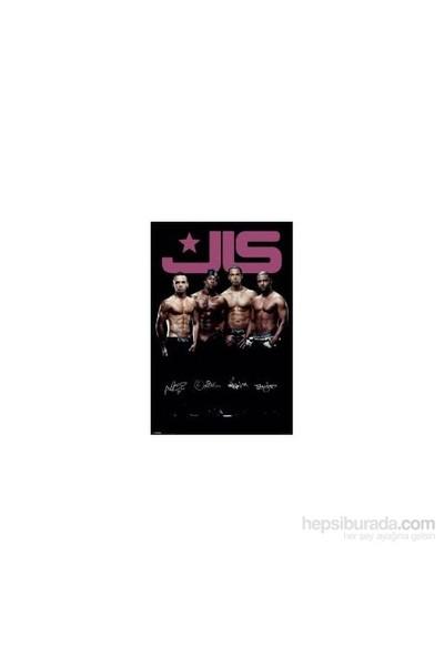 Maxi Poster JLS Topless