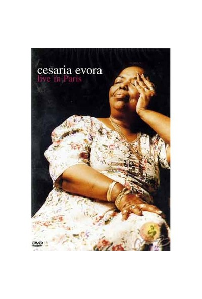 Live In Paris (Cesaria Evora) ( DVD )
