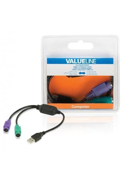 Valueline Vlcb60830b03 Usb 2.0 - 2Xps/2